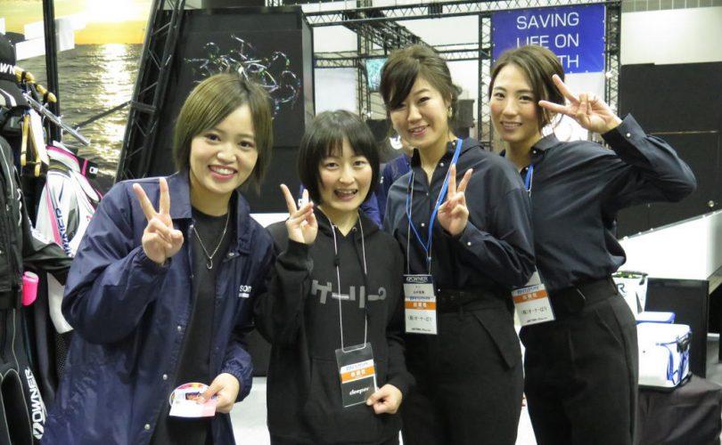 釣りフェスティバル2020in横浜が開幕!メンバーもブースで活躍中です
