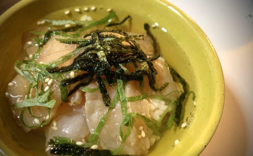 【お魚レシピ】アブラコ(アイナメ)の漬け茶漬け