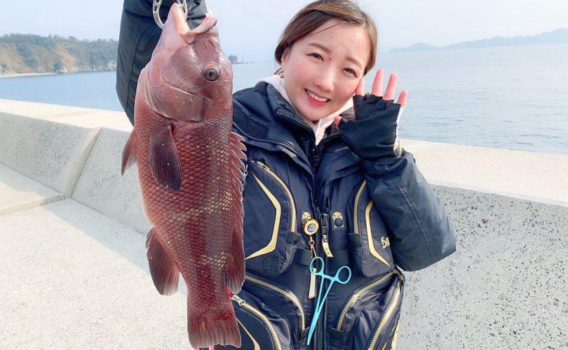 睦月島で釣行🎣色々な魚が釣れました✨