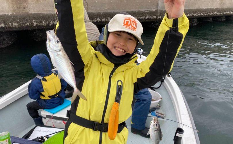 東京湾ライトアジの乗り合い船に乗ってきました!