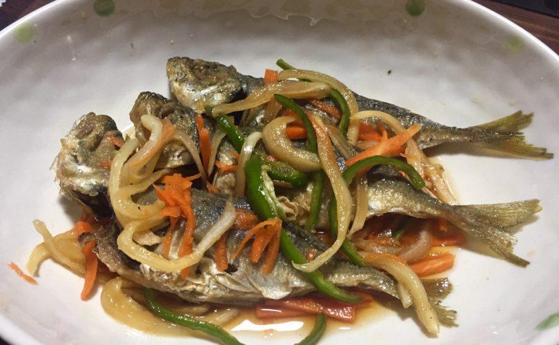 【お魚レシピ】 鯵の南蛮漬け
