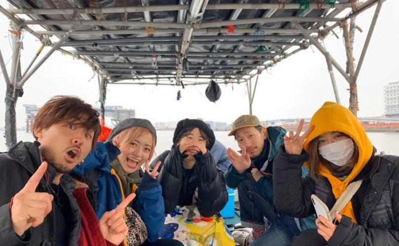 初心者のみんなを釣れて、太刀魚船に行ってきました?