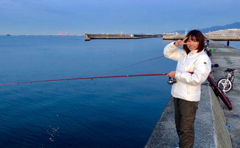 大サバが釣れているという噂を聞いて、西宮ケーソンへ?