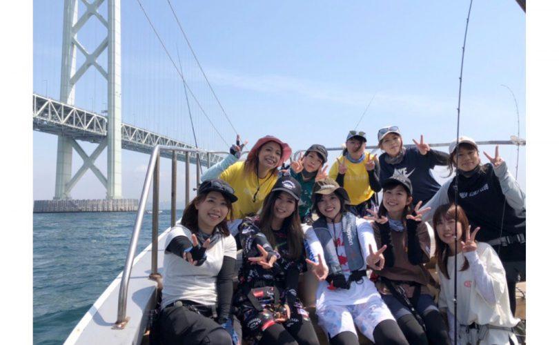 【釣りイベント】明石でタイラバ女子会を開催しました!!