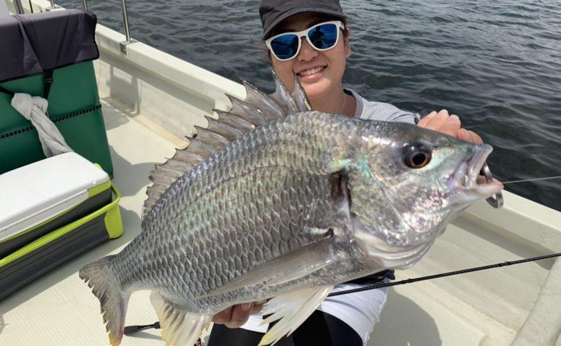 新しい釣具で釣りしてきました?