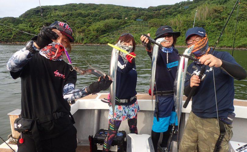 YAMASHITAさん達とタチウオ釣りへ♪