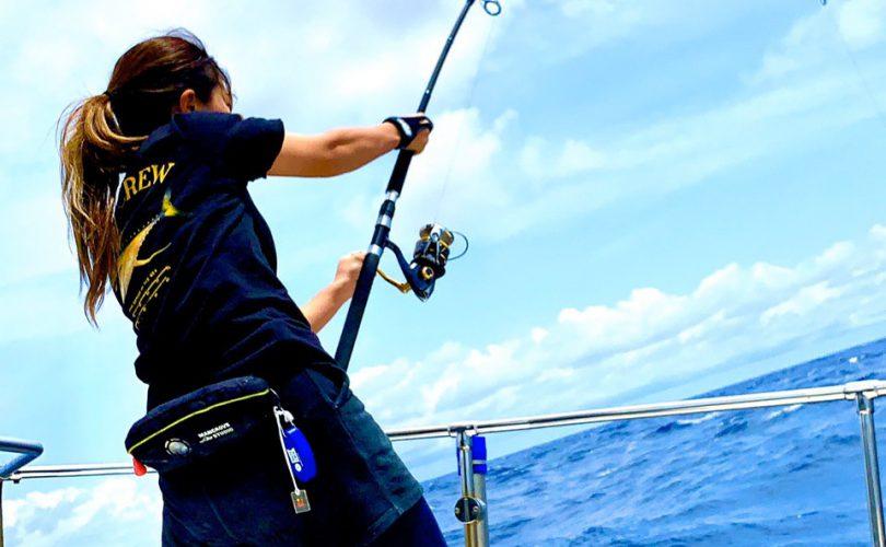マグロ釣り初心者・デビュー予定の女性へ!キャスティングマグロ釣りの特徴やコツについて?