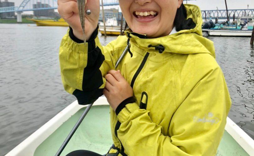 江戸川放水路へ!ボートでハゼ釣り?
