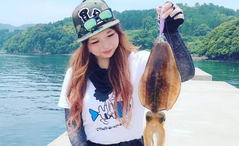 【私の好きな釣り】釣りガールとんちゃんがエギングと釣りの楽しさを教えます
