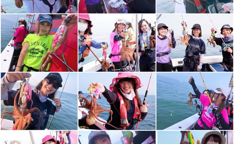 【釣り企画】さつきちゃん幹事のタコ実釣会へ参加してきました♡