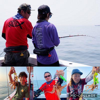 釣りガール公式企画女性タコ実釣会(satsuki)