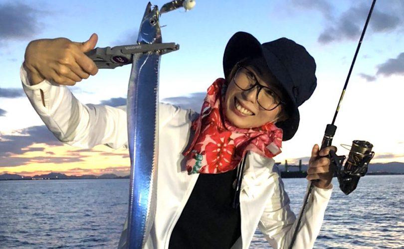 出来るかな〜♪約1年ぶりのタチウオ釣りに行ってきました☆
