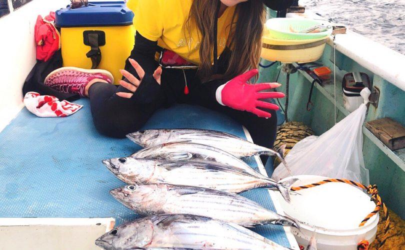 2日間キハダマグロとカツオの釣りに行ってきました😊