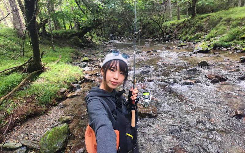 ましゃ、長野遠征で釣りキャンプ☀️渓流ルアーを満喫