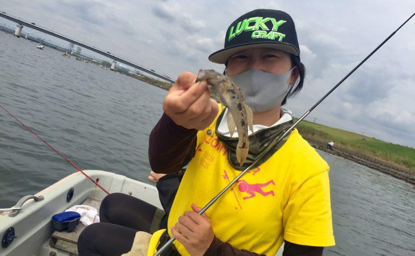 またまた江戸川放水路へボートハゼ釣りに行ってきました♪