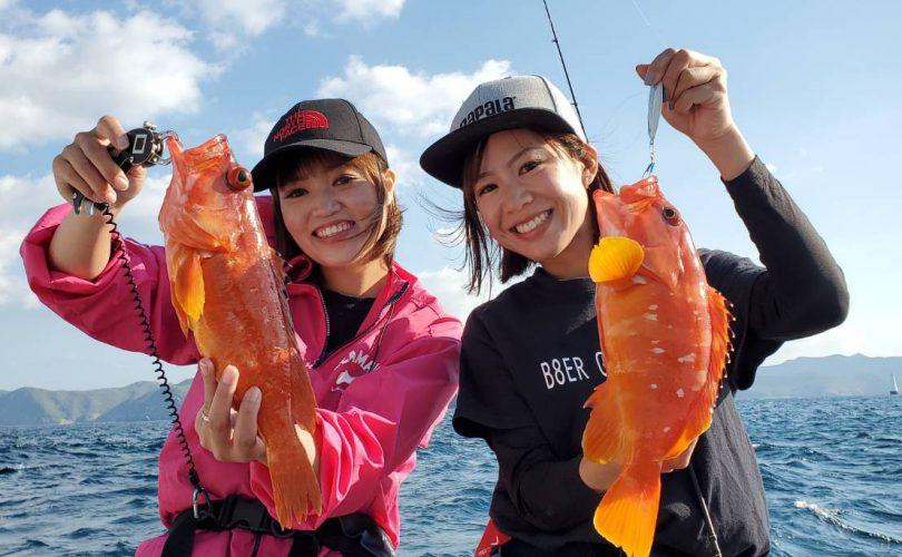"""「釣りの聖地""""対馬""""釣り編」SLJにヒラマサキャスティングで満喫!夕食は釣った魚で贅沢コース♪"""