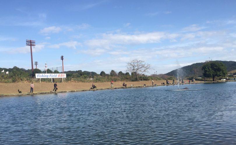 フィッシングフィールド中津川で、エリアトラウトの初場所調査してきましたʕ•ᴥ•ʔ