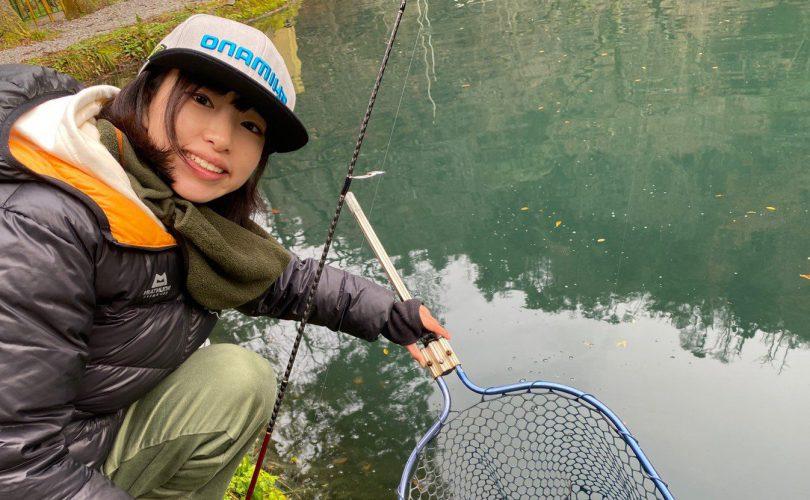 日本最古の養鱒場、醒井養鱒場での管釣りレポート(*'▽')🧡