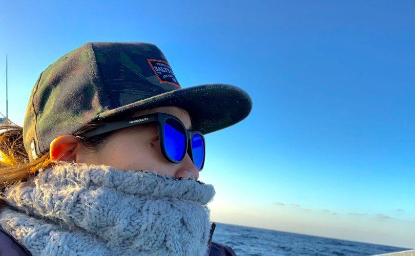 オフショア釣りにおすすめのサングラスは?大物狙い釣りガールHAZUKIが重視するのは偏光!