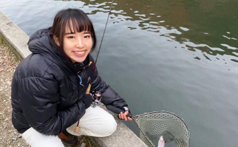 ワクワクと寒さで震えが止まりません✨千早川マス釣り場に行ってきました♬