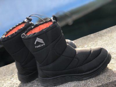 撥水加工の防寒ブーツ