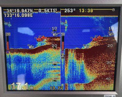 魚群探知機の画像
