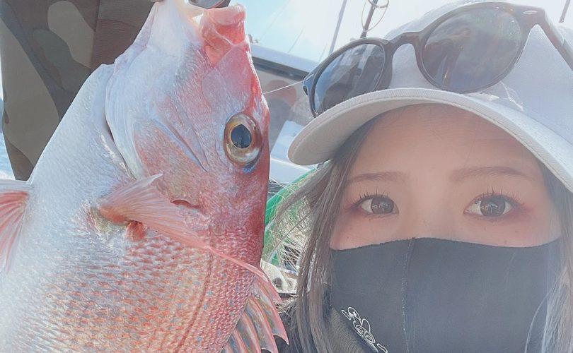 寒かったけど、大きな鯛が釣れた瞬間は最高!!のオフショアDAY🎣✨