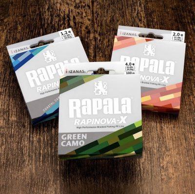 ライン「RAPALA ラピノヴァX ファイヤーカモ0.4号」1