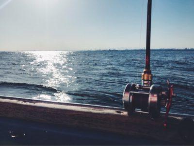 釣り船からの風景