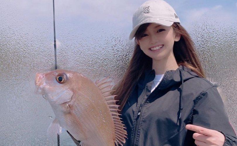MARIEさんはショアテンヤで真鯛Get📸💕🎣4月第5週の釣りガール釣果レポート⭐️