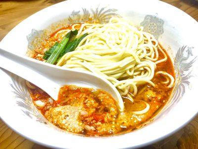 「きんせい」の坦々麺