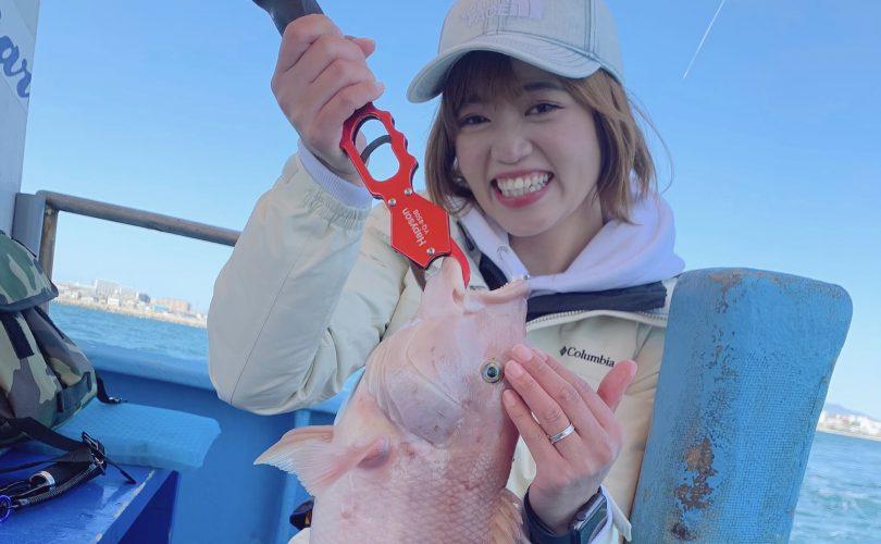 大人気の明石鯛ラバ✨ホームエリアでSatsukiが明石鯛を釣るはずが・・・!?