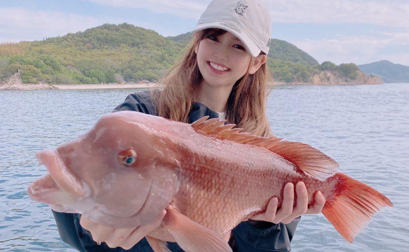 MARIEが一つテンヤで人生で初めての魚種を釣りましたଘ(੭ˊ꒳ˋ)੭❤️