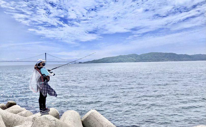 釣り場の近くのお気に入りご飯🌟明石の老舗「ふなまち」明石焼きを持ち帰り✨
