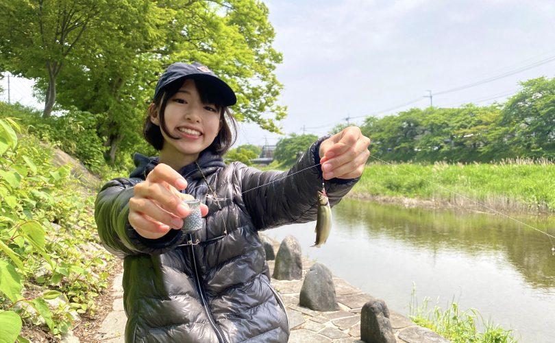 はじめての小鮎釣り🐠天ぷらと塩焼きでいただきました🍻💕
