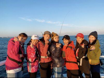 釣りガールと女子釣り会