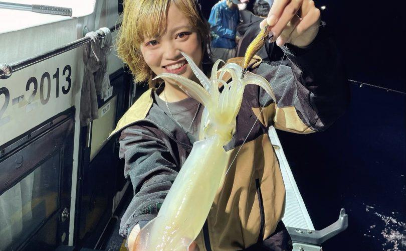 大好きな釣り!オモリグにも初挑戦🦑✨