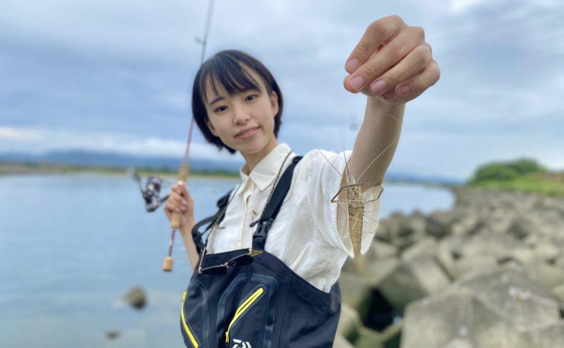 【ましゃ】はじめてのテナガエビ釣り🦐🌱キャンプで唐揚げをいただきます!💕