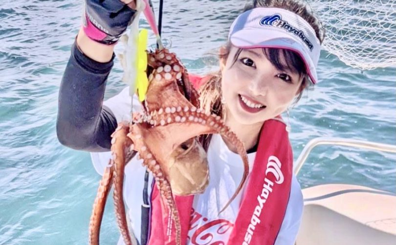 タコのシーズン!🐙明石沖でタコ釣り♬良型多数✨